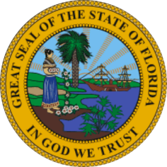 Notary Great Seal of the state of Florida In God We Trust